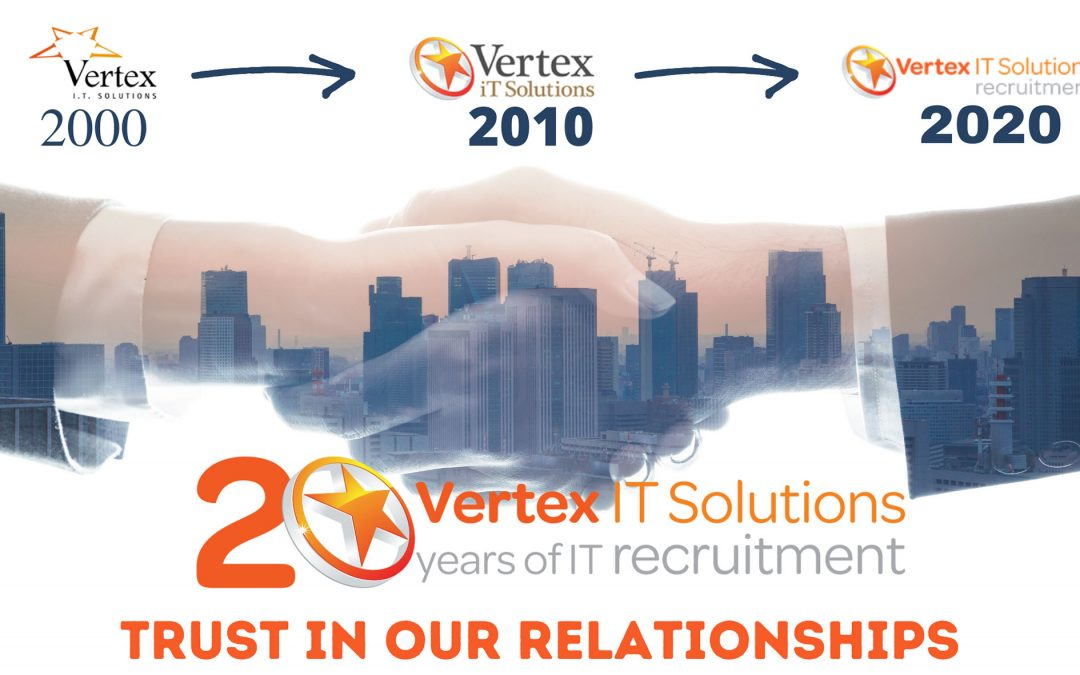 "One constant in our 20 years in business is ""Trust in our relationships""."