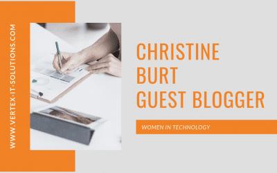Christine Burt – Women in Technology – Guest Blogger